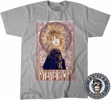 Load image into Gallery viewer, Mucha Art Stevie Nicks Inspired Graphic Illustration Halftone Tshirt Kids Youth Children 1121