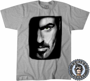 Older - George Micheal Tshirt Kids Youth Children 0183