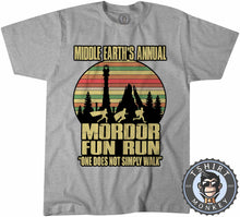 Load image into Gallery viewer, Annual Mordor Fun Run Movie Inspired Funny Vintage Tshirt Kids Youth Children 1100