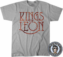 Load image into Gallery viewer, Kings of Leon Flame Inspired Tshirt Kids Youth Children 0349