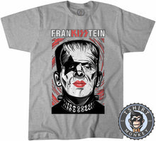 Load image into Gallery viewer, Frankisstein V2 - Music Inspired Kiss Halloween Mashup Tshirt Mens Unisex 1136