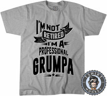 Load image into Gallery viewer, I'm A Professional Grumpa Funny Vintage Statement Tshirt Kids Youth Children 1175