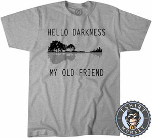 Hello Darkness My Old Friend Tshirt Kids Youth Children 0095
