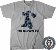 Load image into Gallery viewer, You Complete Me Popular Robot Cartoon Meme Funny Statement Tshirt Kids Youth Children 1313