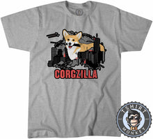 Load image into Gallery viewer, CORGZILLA - Dog Inspired Corgi Funny Animal Print Meme Tshirt Kids Youth Children 1094