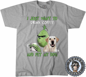 All I Need Is My Dog And My Coffee Tshirt Mens Unisex 2987
