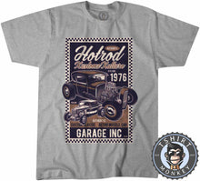 Load image into Gallery viewer, Hotrod Kustom Kulture V1 Vintage Car Inspired Halftone Poster Graphic Tshirt Mens Unisex 1162