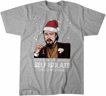 Load image into Gallery viewer, Covid Isolation Big Leo DiCaprio Meme Funny Christmas Style Tshirt Shirt Mens Unisex 11116