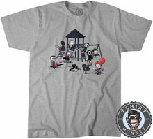 Load image into Gallery viewer, Horror Park Movie Inspired Chibi Funny Halloween Tshirt Kids Youth Children 1343