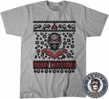 Load image into Gallery viewer, Ant-Man Ugly Sweater Chistmas Tshirt Kids Youth Children 1622