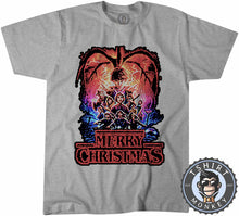 Load image into Gallery viewer, Merry Strange Christmas Ugly Sweater Tshirt Mens Unisex 2884