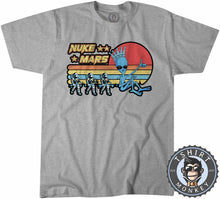 Load image into Gallery viewer, Vintage Nuke Mars Funny Astronaut Alien Graphic Tshirt Kids Youth Children 1085
