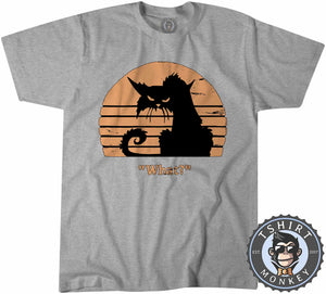 What - Grumpy Cat Funny Vintage Tshirt Kids Youth Children 1218