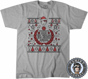 Keep the Change Ugly Sweater Christmas Tshirt Mens Unisex 1644