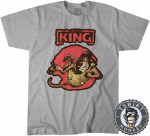 Load image into Gallery viewer, The King - Lion Inspired Animal Print Graphic Cartoon Tshirt Mens Unisex 1258