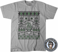 Load image into Gallery viewer, S;ytherin Since 990 Ugly Sweater Christmas Tshirt Mens Unisex 2913