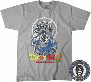 DBZ Super Son Goku Anime Fan Art Tshirt Shirt Kids Youth Children 2358