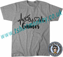 Load image into Gallery viewer, Games T-Shirt Unisex Mens Kids Ladies - TeeTiger