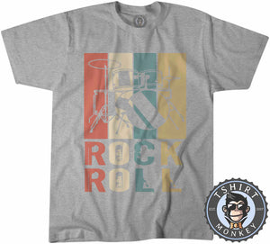 Rock N Roll Tshirt Mens Unisex 2989