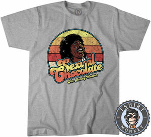 Sexual Chocolate - Movie Inspired Vintage Graphic Tshirt Mens Unisex 1087