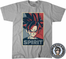 Load image into Gallery viewer, Son Gohan Spirit Pop Art Tshirt Mens Unisex 0107