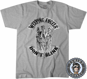 Weeping Angels Tshirt Mens Unisex 0224