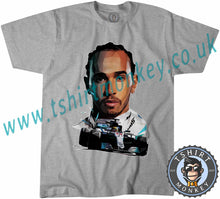 Load image into Gallery viewer, Lewis Hamilton Formula 1 One 44 Petronas T-Shirt Unisex Mens Kids Ladies