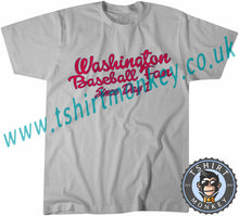 Load image into Gallery viewer, Washington Baseball Fan Since Day One T-Shirt Unisex Mens Kids Ladies - TeeTiger