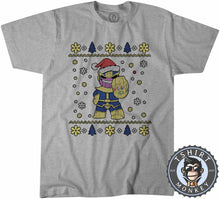 Load image into Gallery viewer, Chibi Thanos Ugly Sweater Christmas Tshirt Mens Unisex 1671