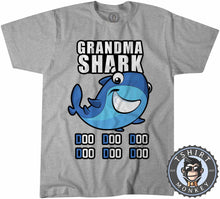 Load image into Gallery viewer, Grandma Shark Music Inspired Cartoon Tshirt Kids Youth Children 1231