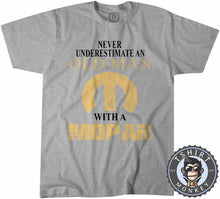 Load image into Gallery viewer, Never Underestimate and Old Man Tshirt Kids Youth Children 0027