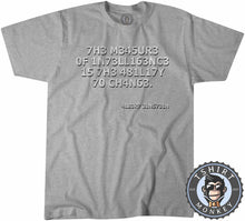 Load image into Gallery viewer, The Measure of Intelligence Tshirt Mens Unisex 2933