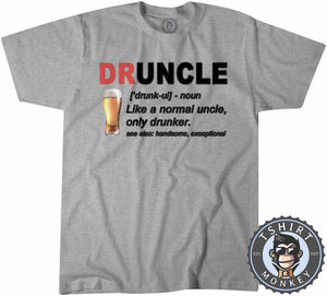 Druncle - Not Your Normal Uncle Tshirt Kids Youth Children 0292