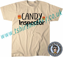 Load image into Gallery viewer, Candy Inspector T-Shirt Unisex Mens Kids Ladies