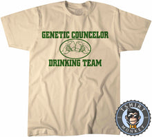Load image into Gallery viewer, Genetic Councillor Drinking Team T-Shirt Unisex Mens Kids Ladies