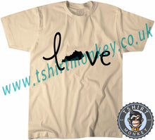 Load image into Gallery viewer, Love Kentucky T-Shirt Unisex Mens Kids Ladies - TeeTiger