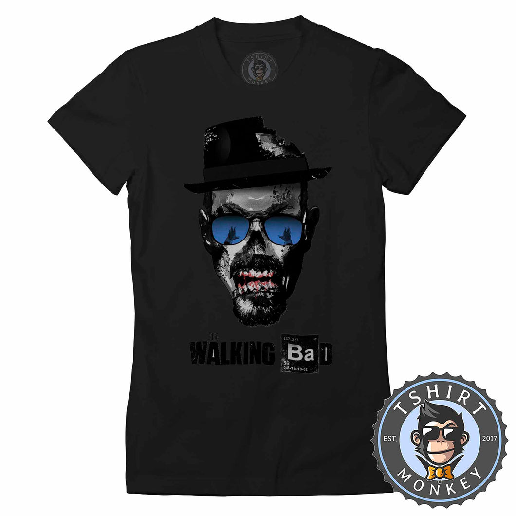 The Walking Bad Tshirt Lady Fit Ladies 0168