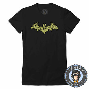 Batman Classic Movie Inspired Graphic Tshirt Lady Fit Ladies 1189