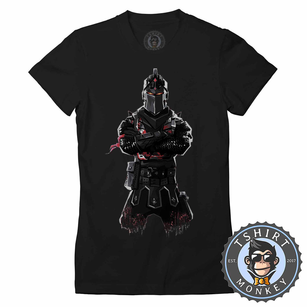 Black Knight Tshirt Lady Fit Ladies 0299