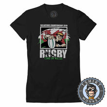 Load image into Gallery viewer, Rugby | Come on Whales Tshirt Lady Fit Ladies 0096