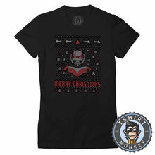 Load image into Gallery viewer, Ant-Man Ugly Sweater Chistmas Tshirt Lady Fit Ladies 1622