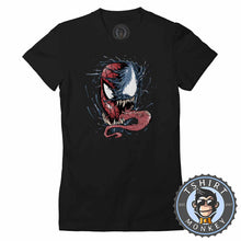 Load image into Gallery viewer, Two Faces of Spider Tshirt Lady Fit Ladies 0326