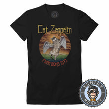 Load image into Gallery viewer, Cat Zeppelin Tshirt Lady Fit Ladies 0240
