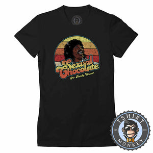 Sexual Chocolate - Movie Inspired Vintage Graphic Tshirt Lady Fit Ladies 1087