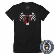 Load image into Gallery viewer, Spider-Man Brushed Color Reveal Tshirt Lady Fit Ladies 0015