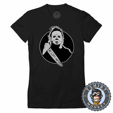 Load image into Gallery viewer, No Lives Matter - Michael Myers Inspired Vintage Halloween Tshirt Lady Fit Ladies 1086