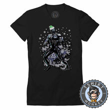 Load image into Gallery viewer, Wakanda Holidays Black Panther Inspired Christmas  Tshirt Lady Fit Ladies 1623