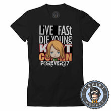 Load image into Gallery viewer, Live Fast Die Young Tshirt Lady Fit Ladies 0041