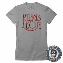 Load image into Gallery viewer, Kings of Leon Flame Inspired Tshirt Lady Fit Ladies 0349