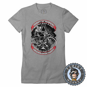 Only A Biker Knows Why Vintage Tshirt Lady Fit Ladies 1228